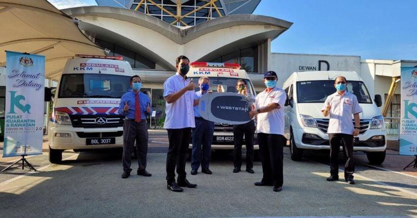 Weststar perkenal ambulans tekanan negatif guna model Maxus V80 untuk bawa pesakit Covid-19 Image #1319508