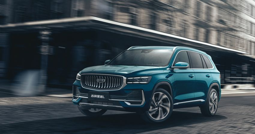 Geely Xingyue L flagship SUV officially launched in China – 2.0T, L2 autonomous, hybrid coming soon Image #1321716