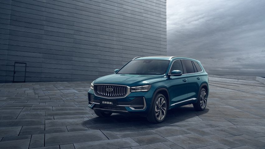 Geely Xingyue L flagship SUV officially launched in China – 2.0T, L2 autonomous, hybrid coming soon Image #1321717