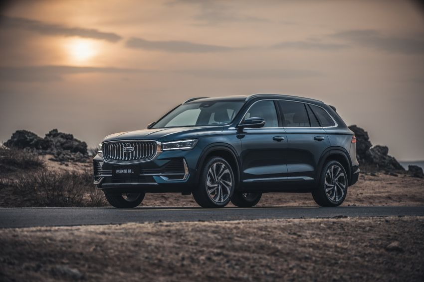 Geely Xingyue L flagship SUV officially launched in China – 2.0T, L2 autonomous, hybrid coming soon Image #1321722