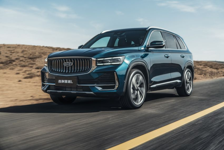 Geely Xingyue L flagship SUV officially launched in China – 2.0T, L2 autonomous, hybrid coming soon Image #1321726