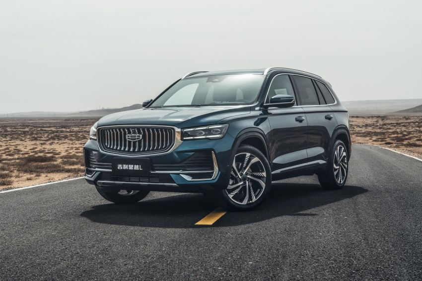 Geely Xingyue L flagship SUV officially launched in China – 2.0T, L2 autonomous, hybrid coming soon Image #1321727
