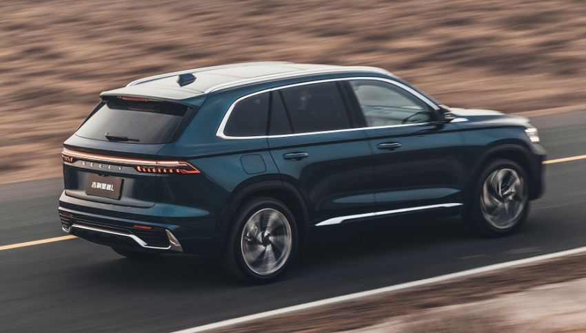 Geely Xingyue L flagship SUV officially launched in China – 2.0T, L2 autonomous, hybrid coming soon Image #1321729
