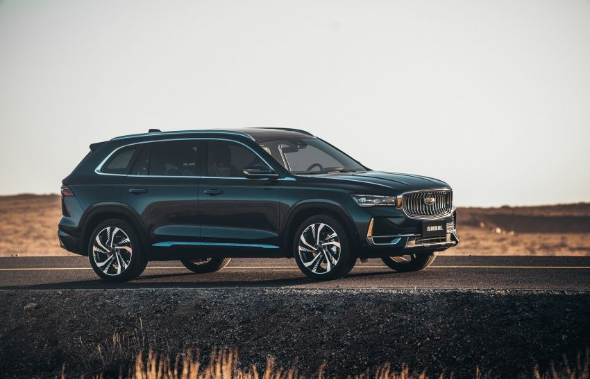 Geely Xingyue L flagship SUV officially launched in China – 2.0T, L2 autonomous, hybrid coming soon Image #1321733