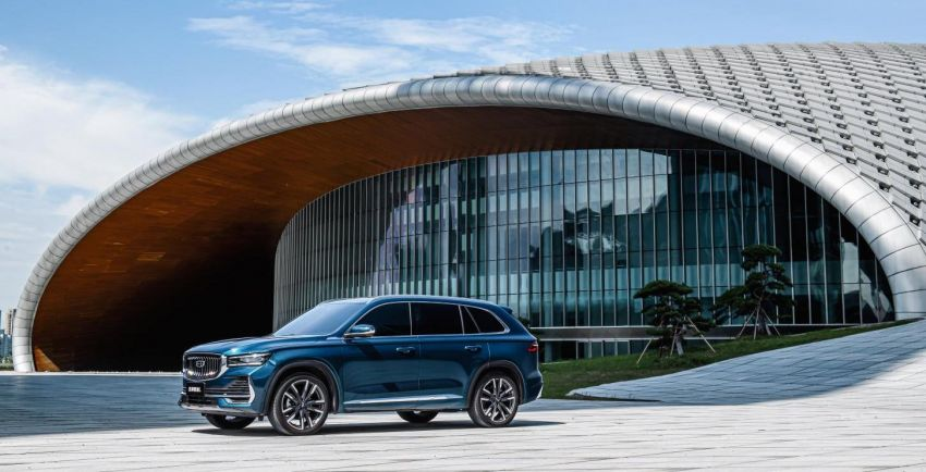 Geely Xingyue L flagship SUV officially launched in China – 2.0T, L2 autonomous, hybrid coming soon Image #1321749