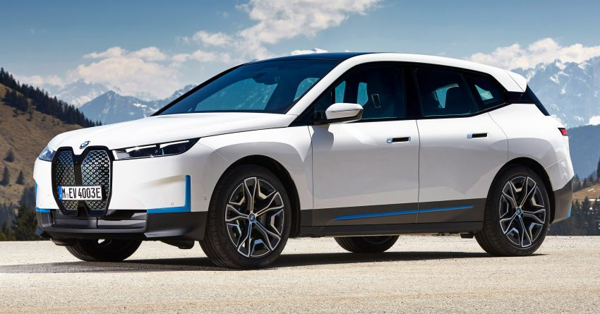 BMW iX xDrive40 EV SUV launched in Malaysia – CBU, 322 hp and 630 Nm, 425 km range, priced from RM420k Image #1335898