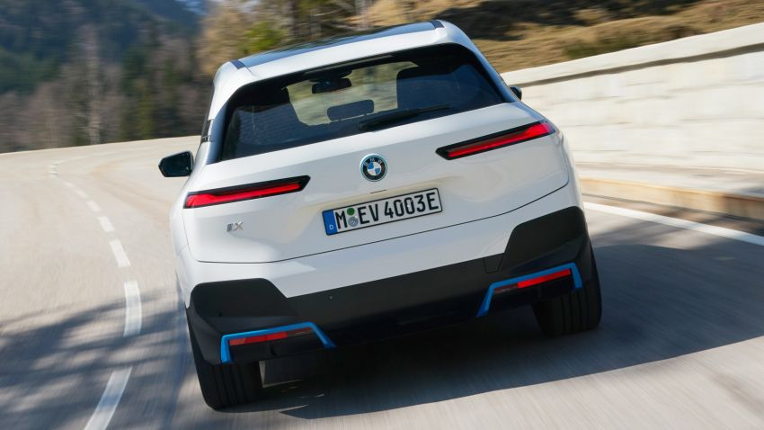 BMW iX xDrive40 EV SUV launched in Malaysia – CBU, 322 hp and 630 Nm, 425 km range, priced from RM420k Image #1335899
