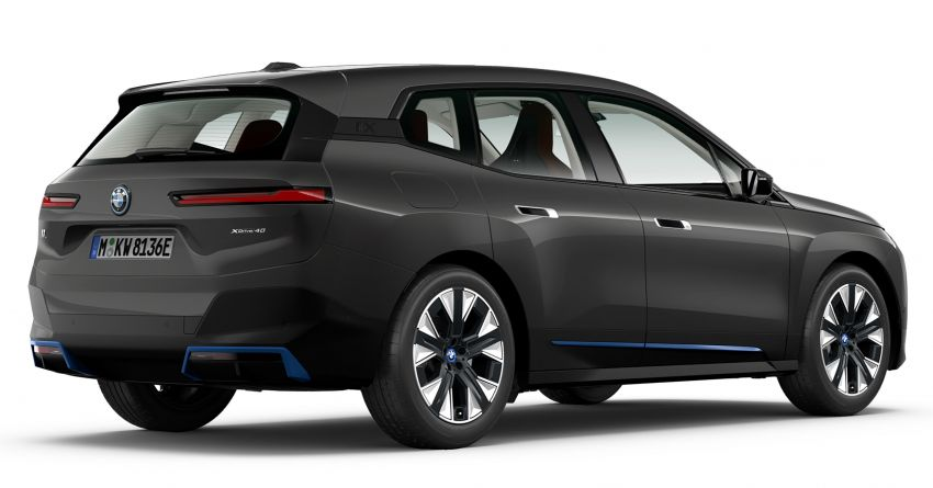 BMW iX xDrive40 EV SUV launched in Malaysia – CBU, 322 hp and 630 Nm, 425 km range, priced from RM420k Image #1335919