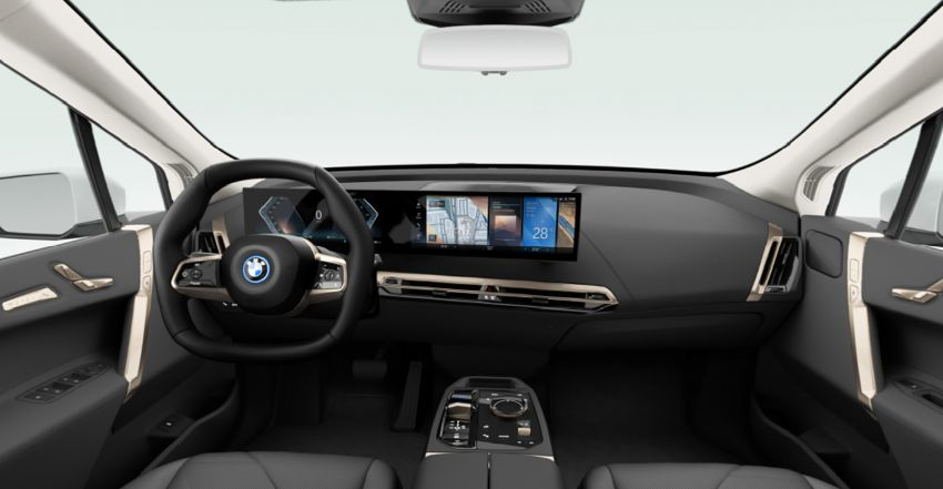 BMW iX xDrive40 EV SUV launched in Malaysia – CBU, 322 hp and 630 Nm, 425 km range, priced from RM420k Image #1335928