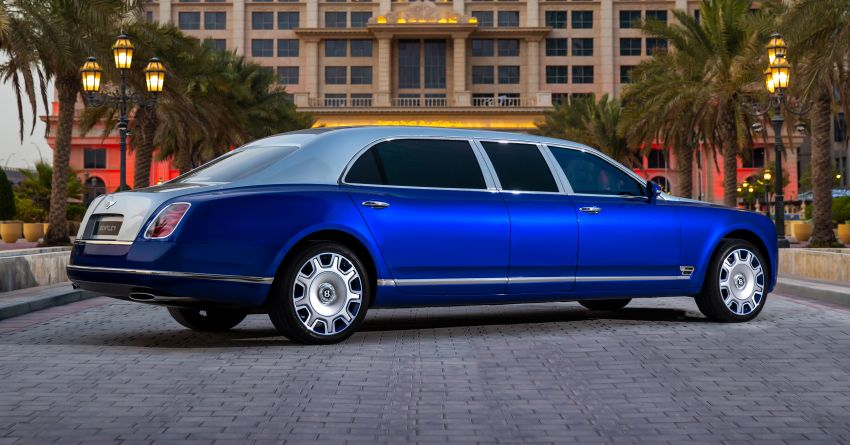 2015 Bentley Mulsanne Grand Limousine by Mulliner – longest manufacturer-built limo in the world for sale! Image #1326596