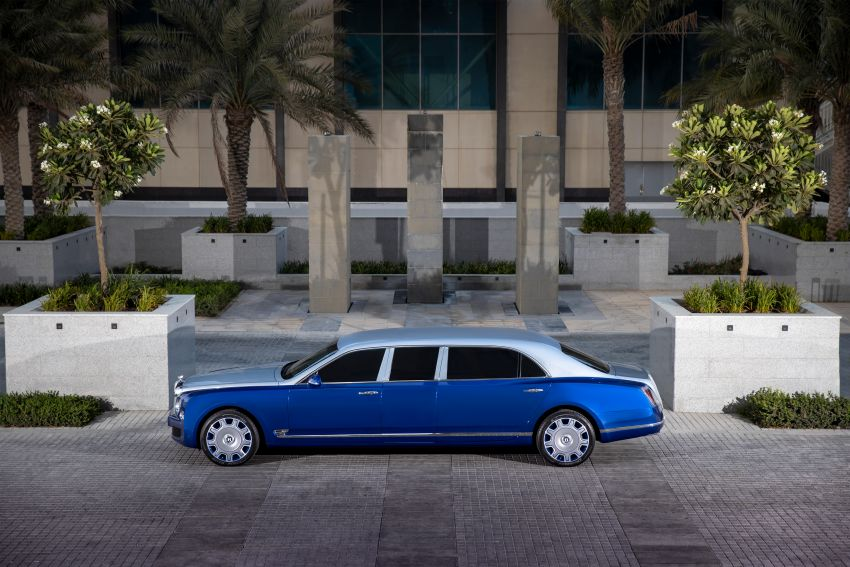 2015 Bentley Mulsanne Grand Limousine by Mulliner – longest manufacturer-built limo in the world for sale! Image #1326597