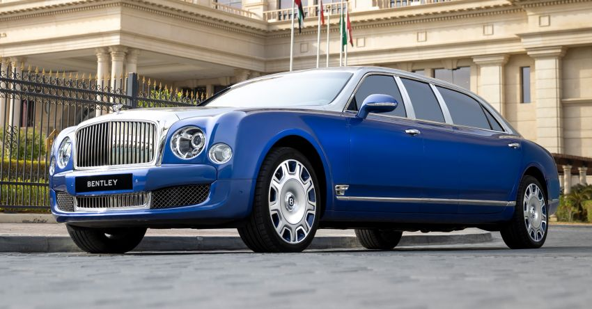 2015 Bentley Mulsanne Grand Limousine by Mulliner – longest manufacturer-built limo in the world for sale! Image #1326598