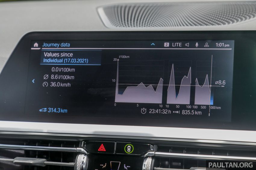 REVIEW: 2021 BMW 330e M Sport in Malaysia, RM250k Image #1336752