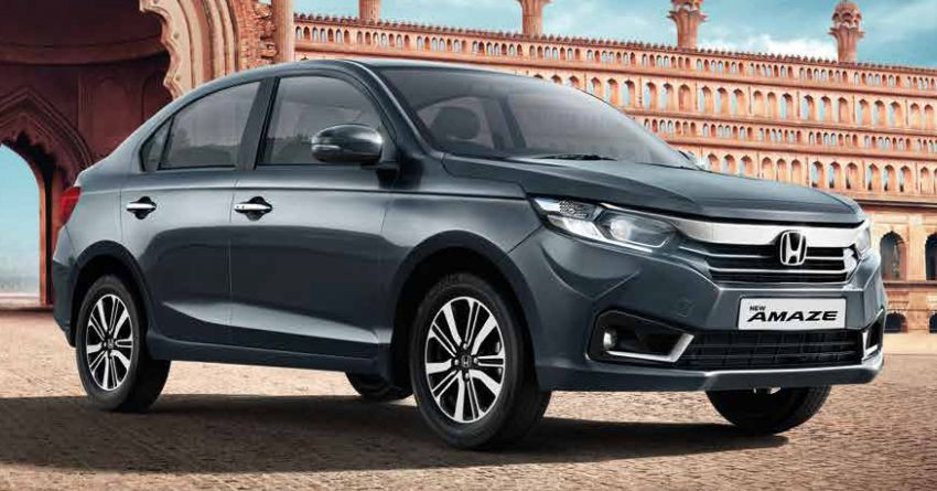 2021 Honda Amaze facelift launched in India – updated styling and features; same petrol and diesel engines Image #1332762