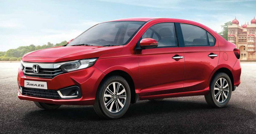 2021 Honda Amaze facelift launched in India – updated styling and features; same petrol and diesel engines Image #1332764