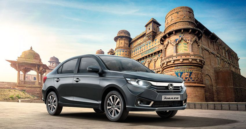 2021 Honda Amaze facelift launched in India – updated styling and features; same petrol and diesel engines Image #1332766