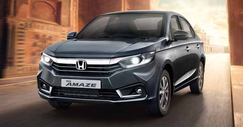 2021 Honda Amaze facelift launched in India – updated styling and features; same petrol and diesel engines Image #1332767
