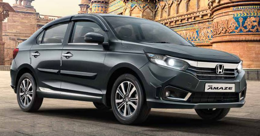 2021 Honda Amaze facelift launched in India – updated styling and features; same petrol and diesel engines Image #1332812