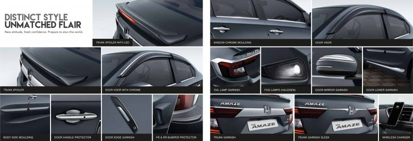 2021 Honda Amaze facelift launched in India – updated styling and features; same petrol and diesel engines Image #1332814
