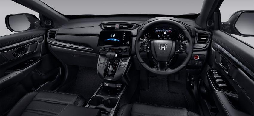 Honda CR-V Black Edition 2021 di Thailand – RM188k Image #1334985
