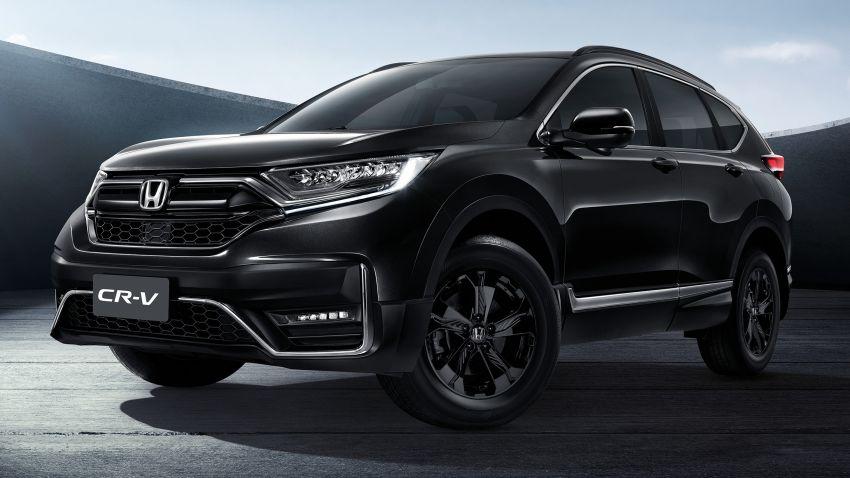 Honda CR-V Black Edition 2021 di Thailand – RM188k Image #1334983