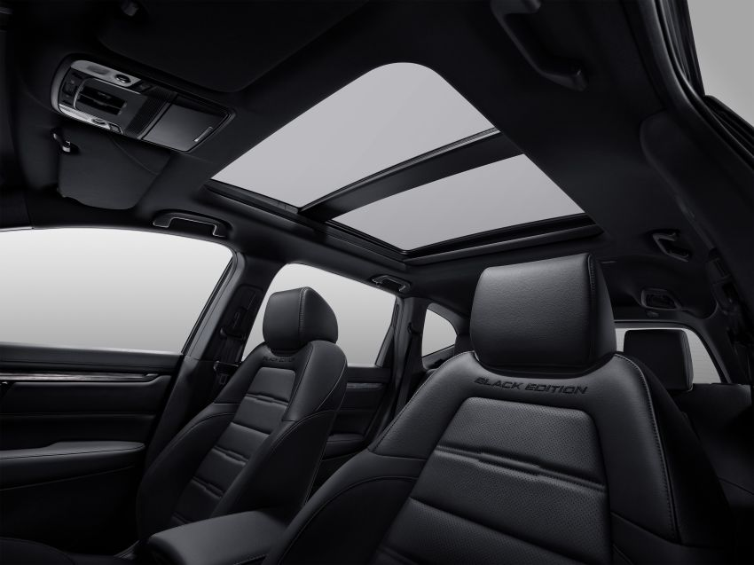 2021 Honda CR-V Black Edition in Thailand – RM188k Image #1334913