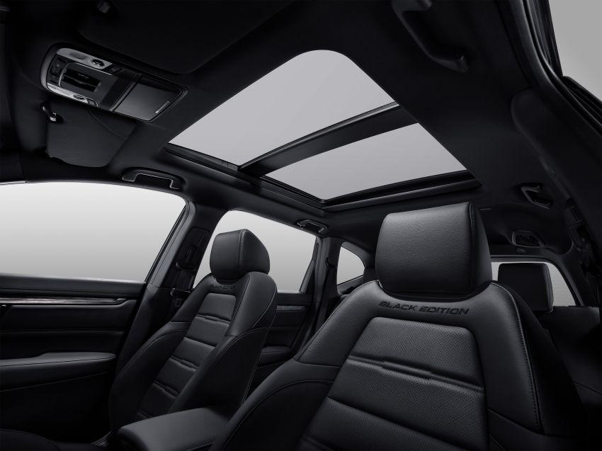 Honda CR-V Black Edition 2021 di Thailand – RM188k Image #1334976