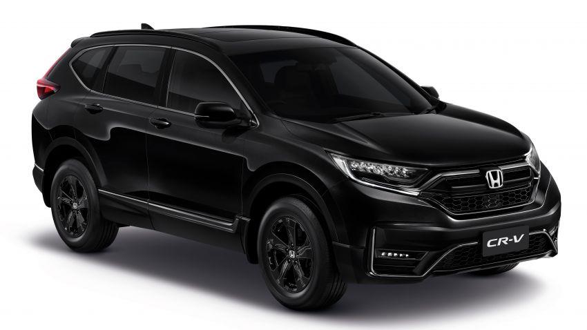 Honda CR-V Black Edition 2021 di Thailand – RM188k Image #1334978
