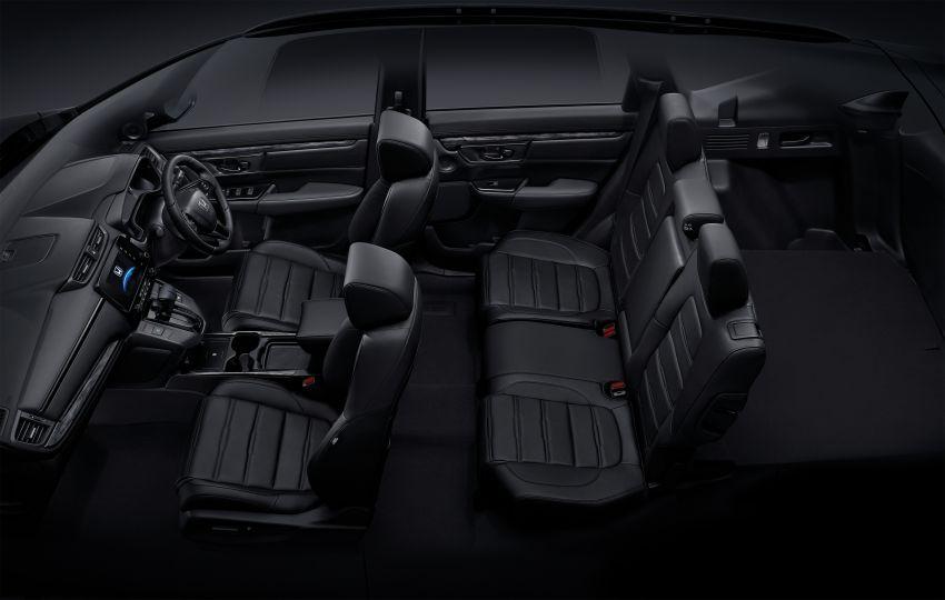 Honda CR-V Black Edition 2021 di Thailand – RM188k Image #1334979