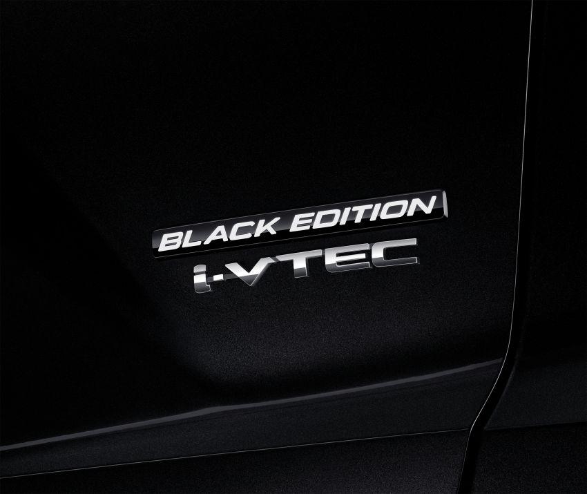 Honda CR-V Black Edition 2021 di Thailand – RM188k Image #1334981