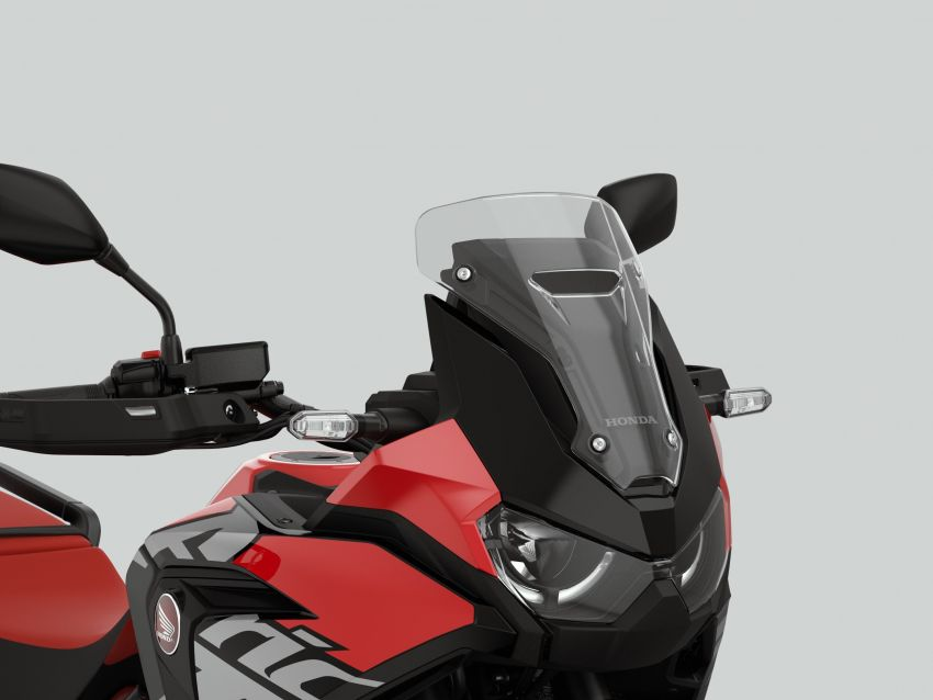 2022 Honda CRF1100L Africa Twin and Africa Twin Adventure Sports updated – rear carrier, lower screen Image #1337180