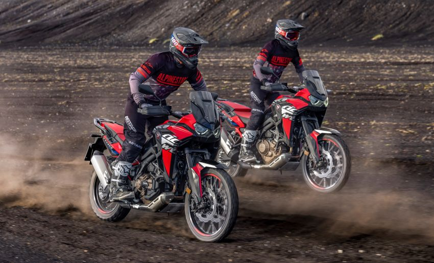 2022 Honda CRF1100L Africa Twin and Africa Twin Adventure Sports updated – rear carrier, lower screen Image #1337184