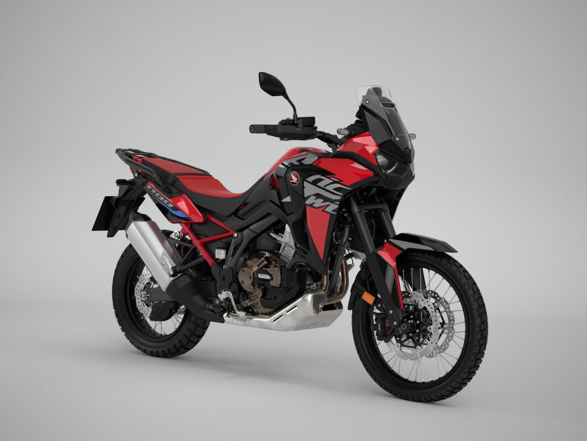 2022 Honda CRF1100L Africa Twin and Africa Twin Adventure Sports updated – rear carrier, lower screen Image #1337167