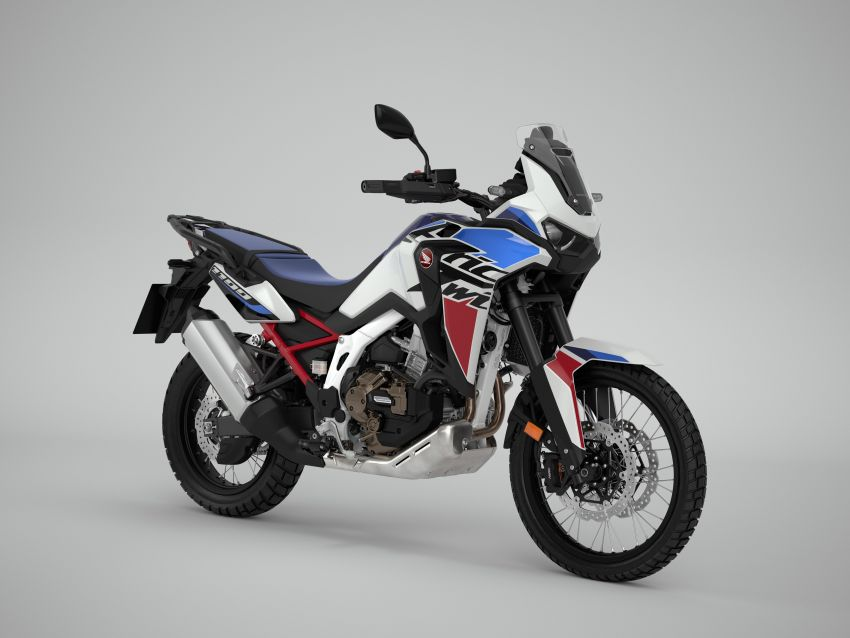 2022 Honda CRF1100L Africa Twin and Africa Twin Adventure Sports updated – rear carrier, lower screen Image #1337169