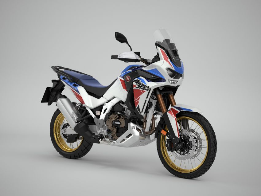 2022 Honda CRF1100L Africa Twin and Africa Twin Adventure Sports updated – rear carrier, lower screen Image #1337207