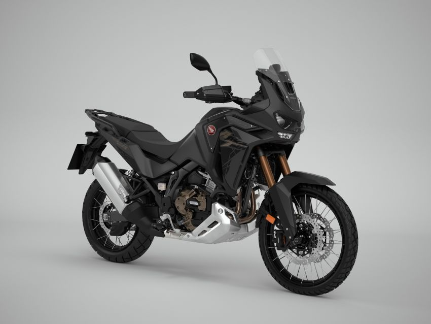 2022 Honda CRF1100L Africa Twin and Africa Twin Adventure Sports updated – rear carrier, lower screen Image #1337224