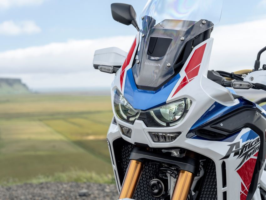 2022 Honda CRF1100L Africa Twin and Africa Twin Adventure Sports updated – rear carrier, lower screen Image #1337205