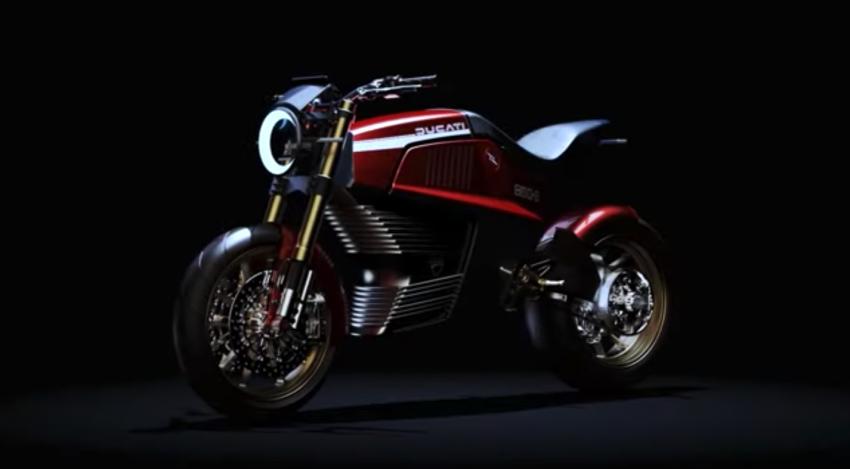 Italdesign shows Ducati 860-E e-bike concept video Image #1326978