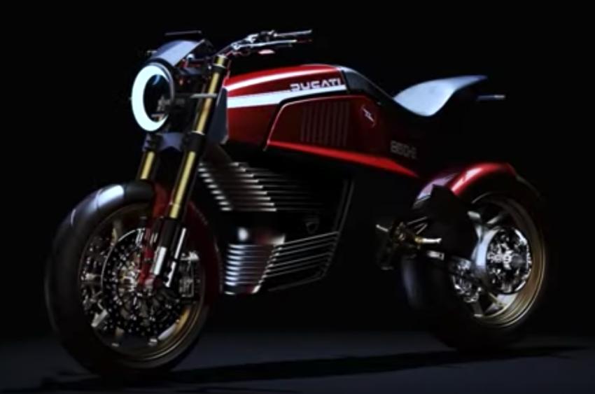 Italdesign shows Ducati 860-E e-bike concept video Image #1326975