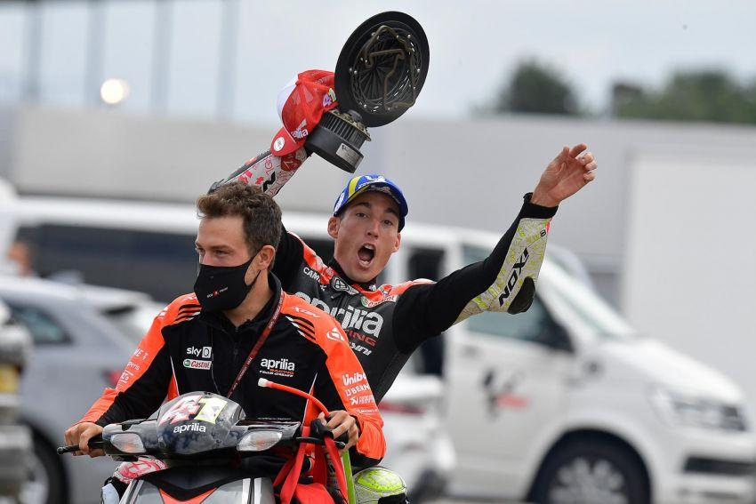 2021 MotoGP: Aprilia back on the podium in British GP Image #1337715