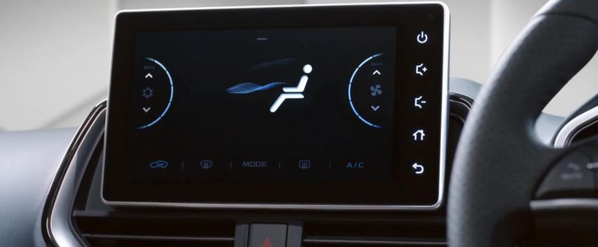 2021 Proton Persona, Iriz facelift – Teaser 2 reveals new digital air con panel, upgraded 'Hi, Proton' system Image #1326262