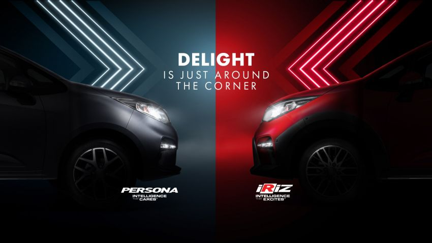 2021 Proton Iriz, Persona facelift official teaser – new SUV-style 'Iriz Active', centre console; floating screen Image #1325611