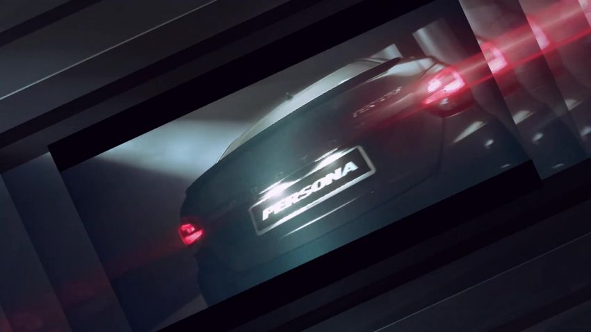 2021 Proton Iriz, Persona facelift official teaser – new SUV-style 'Iriz Active', centre console; floating screen Image #1325623