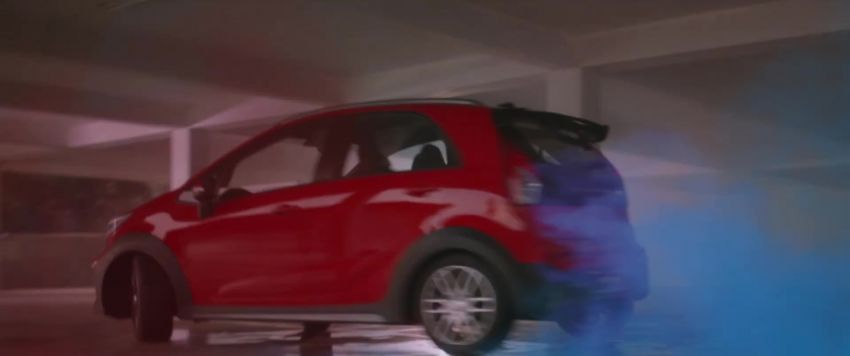 2021 Proton Iriz, Persona facelift official teaser – new SUV-style 'Iriz Active', centre console; floating screen Image #1325626