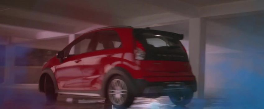 2021 Proton Iriz, Persona facelift official teaser – new SUV-style 'Iriz Active', centre console; floating screen Image #1325627
