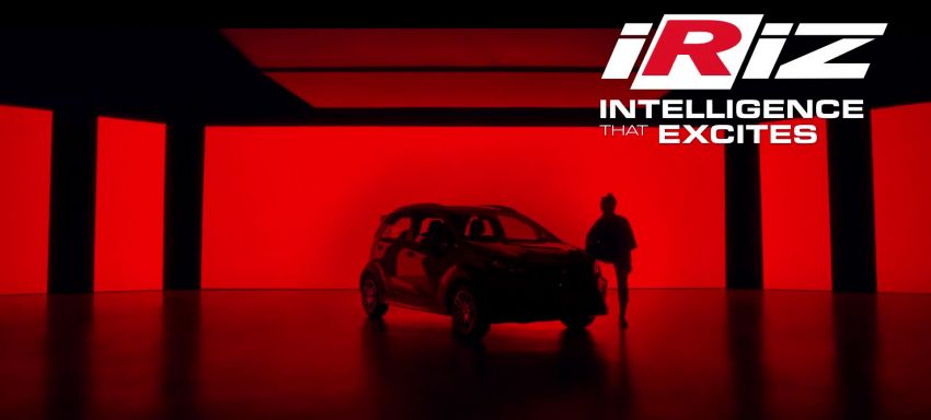 2021 Proton Iriz, Persona facelift official teaser – new SUV-style 'Iriz Active', centre console; floating screen Image #1325629