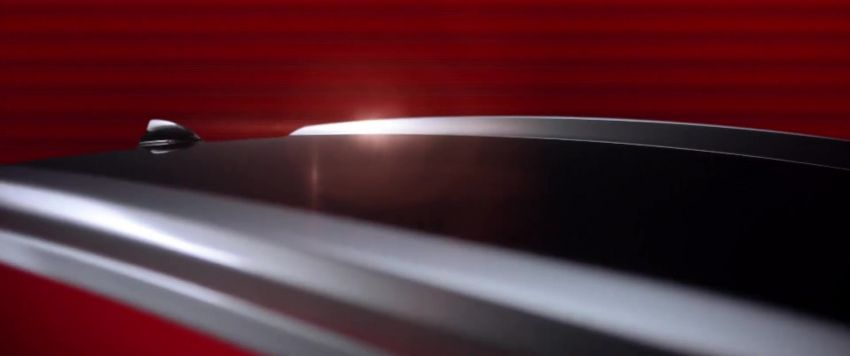 2021 Proton Iriz, Persona facelift official teaser – new SUV-style 'Iriz Active', centre console; floating screen Image #1325616