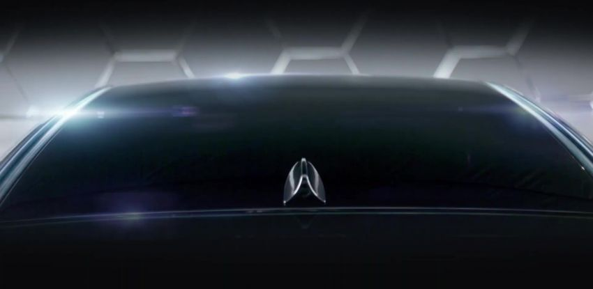2021 Proton Iriz, Persona facelift official teaser – new SUV-style 'Iriz Active', centre console; floating screen Image #1325617