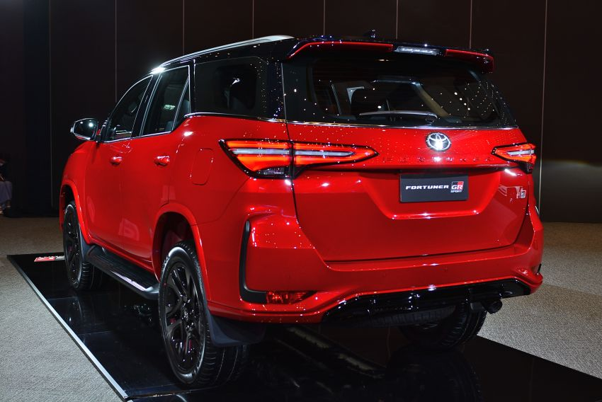 Toyota Fortuner GR Sport dilancar di Thai – 2.8L turbodiesel dengan 4WD, 204 PS/500 Nm; RM240,279 Image #1336160