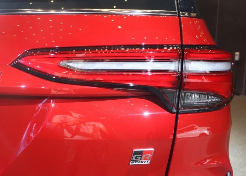 Toyota Fortuner GR Sport dilancar di Thai – 2.8L turbodiesel dengan 4WD, 204 PS/500 Nm; RM240,279 Image #1336144